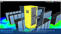 Videos of physical security, network security and data center  infrastructure
