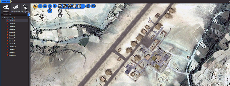 nupsys, nusim, 3d visualization, military instalations, bases, training camps